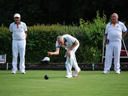 Tiverton West End Bowling Club Starcross visit 13-8-18