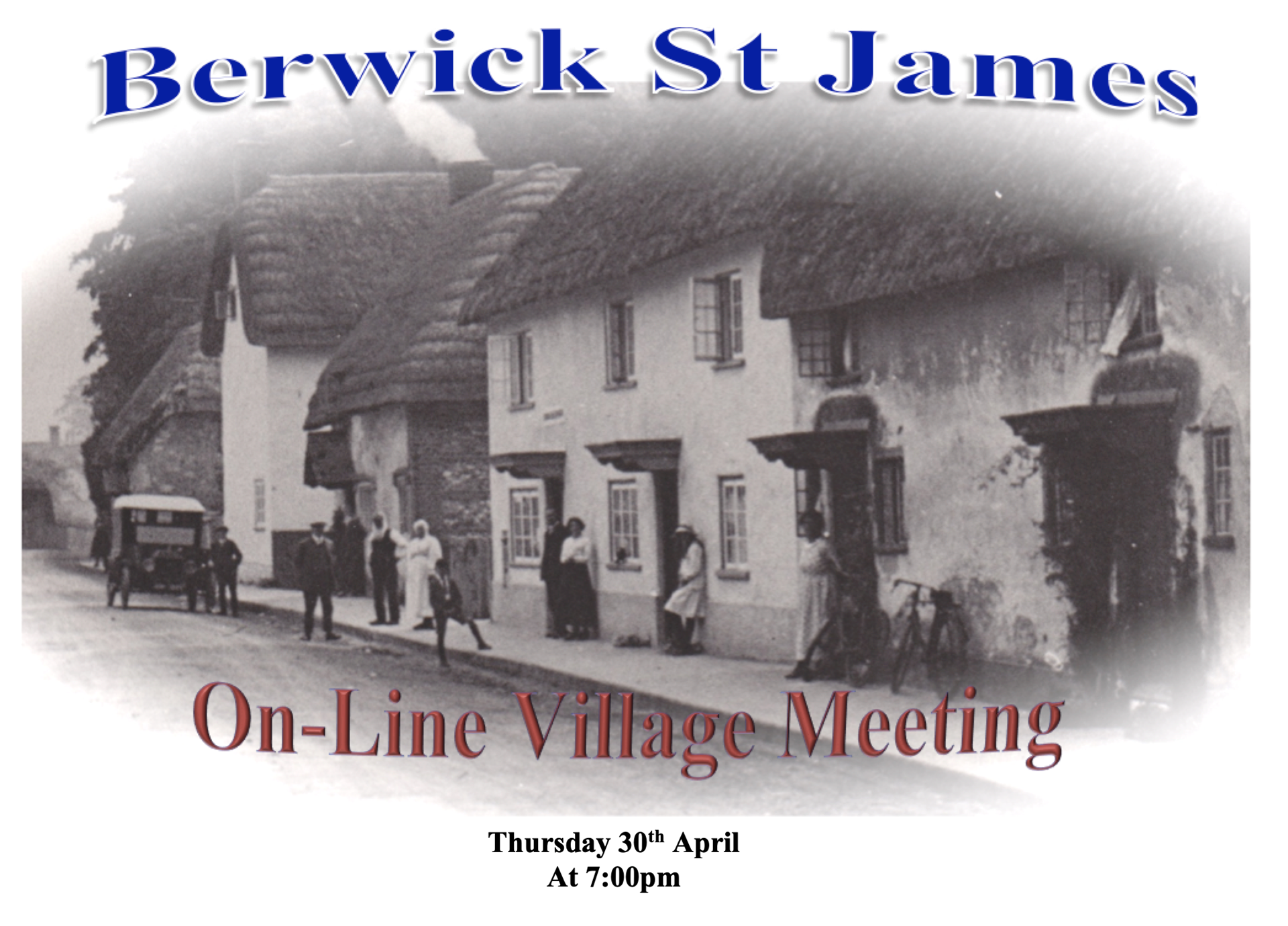 Berwick St James Parish 30th April 2020 - (On Line)