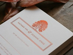 Wedding Stationery, The Foil Invite Company