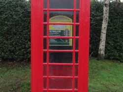 Phone box in Little Ness