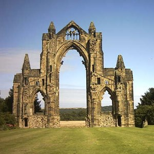 Guisborough Priory dates back to 14th Century