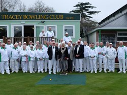 Bovey Tracey Bowling Club Opening of the Green 2018