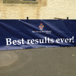 Henry Box School - Best results ever!
