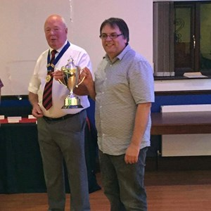Andy McKain Club Champion & Club Man of the Year