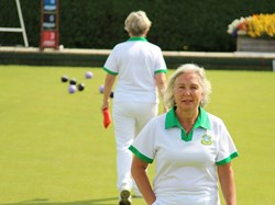Bovey Tracey Bowling Club Ladies Pairs Quarter Final 2019