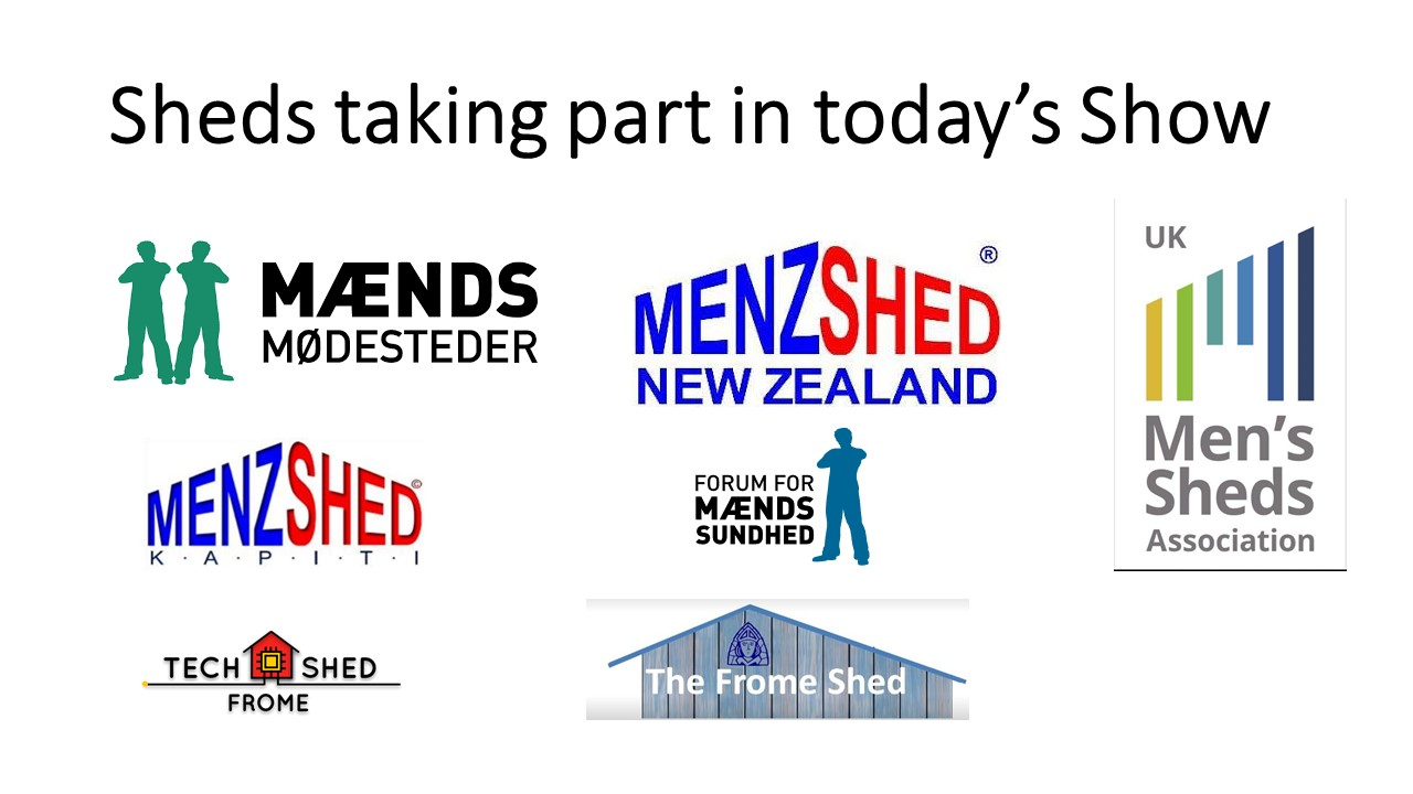 'Shed Happens' - Even if you're self isolating #10-5-9th December 2020(UK Shed Show)