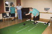 Indoor Bowls, Little Wenlock Parish Council