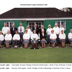 Cleveland League Winners 1997