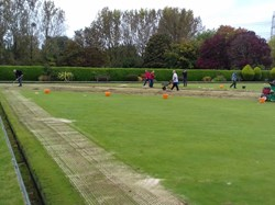 Fleming Park Bowling Club Green Works