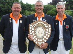 Steve Roden, Peter Brown, Steve Lander - 2012 EBF 3b triples winners
