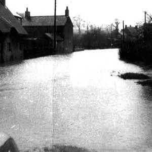 Floods Kelmarsh Road