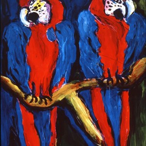 Macaws No: 4  Sold £150.00