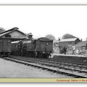 Guisborough Railway Station 1960