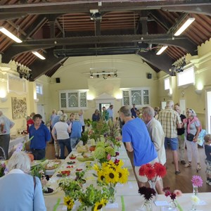 Mickleham and Westhumble Horticultural Society September 2018 show pictures