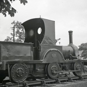 0-4-2 steam engine Gazelle at Longmoor Camp