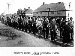 Parade along Bridge Rd