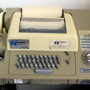 A Telex Machine (For those under 40)