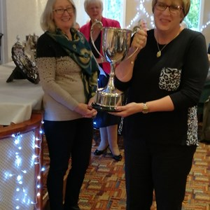 Norval Cup - Lynne Bayley - 1st Ladies Winner
