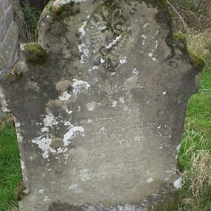 George Marsh's grave - St Mary's