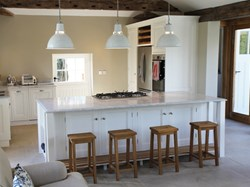 Berkshire Pool House Conversion - Kitchen