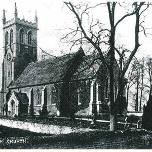 Early picture of St James Church