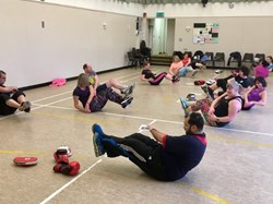 Boxcercise Class