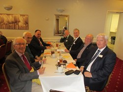 Probus boys at lunch