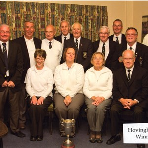 Hovingham League Winners 2014