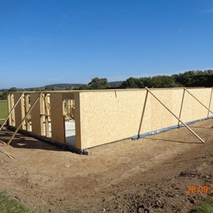 Boughton-Under-Blean Bowls Club New Clubhouse progress