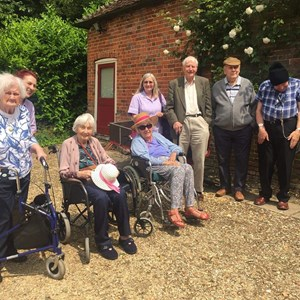 Community Club at Chawton House June 2018